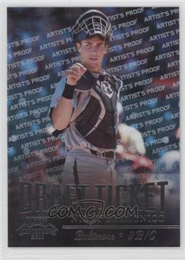 2011 Playoff Contenders - Draft Tickets - Artist's Proof #DT8 - Nicky Delmonico /49