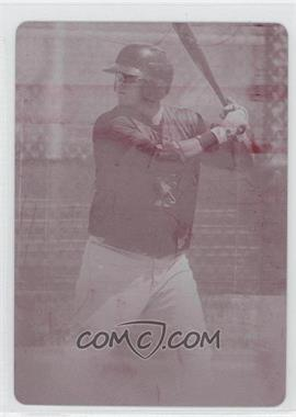 2011 Playoff Contenders - Draft Tickets - Printing Plate Magenta #61 - Nick Ramirez /1