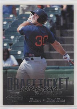 2011 Playoff Contenders - Draft Tickets #DT34 - Travis Shaw