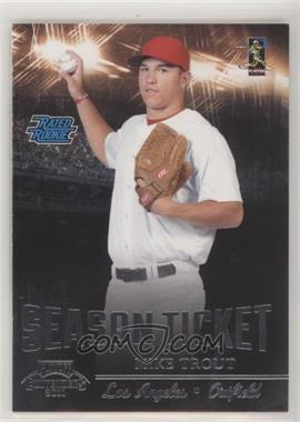 2011 Playoff Contenders - Season Tickets #17 - Mike Trout