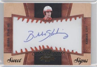 2011 Playoff Contenders - Sweet Signs #25 - Bubba Starling /99