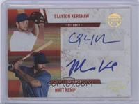 Matt Kemp, Clayton Kershaw /25
