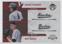 George Springer, Matt Barnes