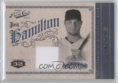 2011 Playoff Prime Cuts - [Base] - Materials [Memorabilia] #24 - Josh Hamilton /199