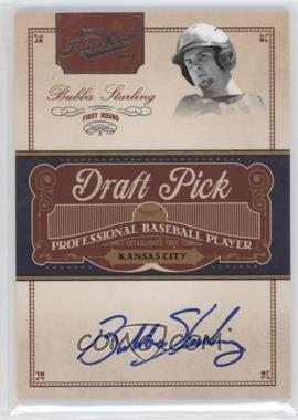 2011 Playoff Prime Cuts - Draft Pick Signatures #BST - Bubba Starling /249