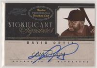 David Ortiz #/25