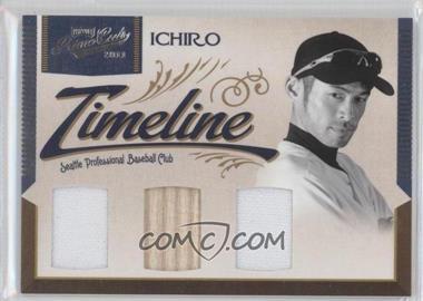 2011 Playoff Prime Cuts - Timeline Materials - Trios #51 - Ichiro Suzuki /25