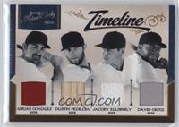David Ortiz, Jacoby Ellsbury, Adrian Gonzalez, Dustin Pedroia /99