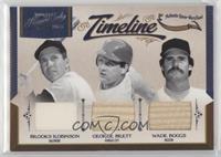 Brooks Robinson, George Brett, Wade Boggs /99