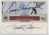 Sam Chapman, Jackie Jensen #/5
