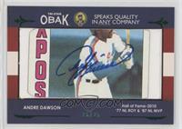 Andre Dawson #/25