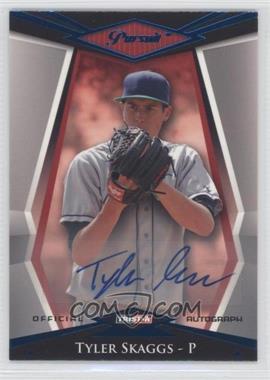 2011 TRISTAR Pursuit - [Base] - Blue Autographs [Autographed] #20 - Tyler Skaggs /50