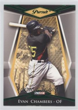 2011 TRISTAR Pursuit - [Base] - Green #78 - Evan Chambers /25