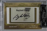 Gaylord Perry /10 [Cut Signature]