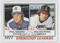 Phil Niekro, Nolan Ryan