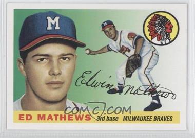 2011 Topps - 60 Years of Topps #60YOT-63 - Eddie Mathews