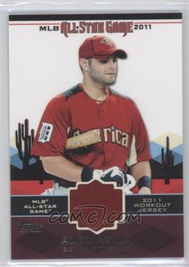 2011 Topps - All-Star Stitches #AS-2 - Alex Avila