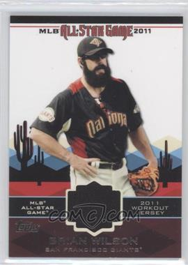 2011 Topps - All-Star Stitches #AS-48 - Brian Wilson