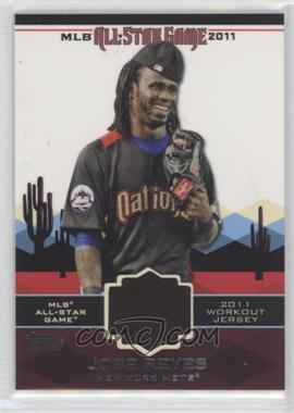 2011 Topps - All-Star Stitches #AS-64 - Jose Reyes