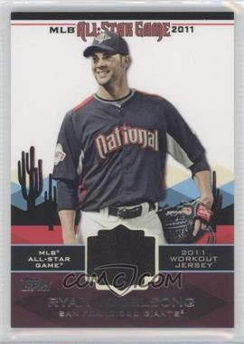 2011 Topps - All-Star Stitches #AS-72 - Ryan Vogelsong