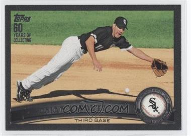 2011 Topps - [Base] - Black #243 - Omar Vizquel /60