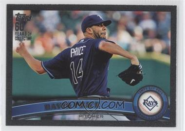 2011 Topps - [Base] - Black #61 - David Price /60