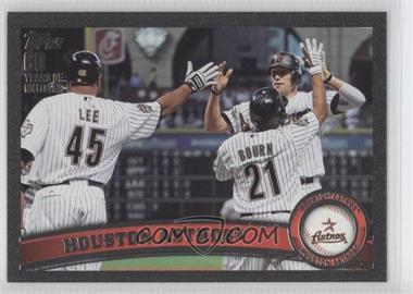 2011 Topps - [Base] - Black #631 - Houston Astros Team /60