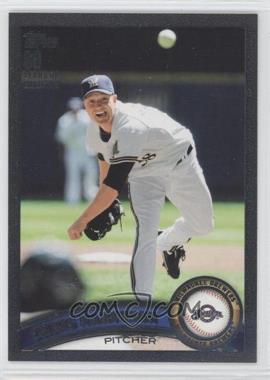2011 Topps - [Base] - Black #92 - Chris Narveson /60