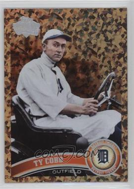 2011 Topps - [Base] - Cognac Diamond Anniversary #200.2 - Ty Cobb (Legends)
