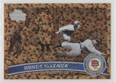 2011 Topps - [Base] - Cognac Diamond Anniversary #20.2 - Honus Wagner (Legends)
