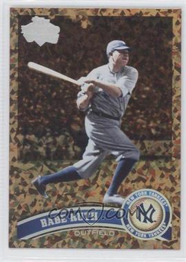 2011 Topps - [Base] - Cognac Diamond Anniversary #271.2 - Babe Ruth (Legends)