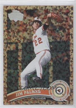 2011 Topps - [Base] - Cognac Diamond Anniversary #393.2 - Jim Palmer (Legends)