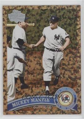 2011 Topps - [Base] - Cognac Diamond Anniversary #450.2 - Mickey Mantle (Legends)