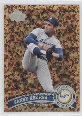 2011 Topps - [Base] - Cognac Diamond Anniversary #530.2 - Sandy Koufax (Legends)