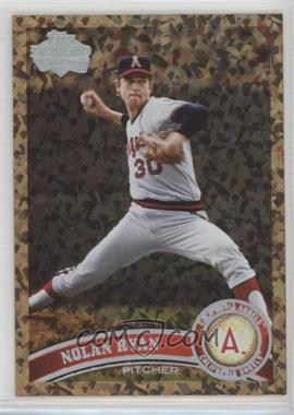 2011 Topps - [Base] - Cognac Diamond Anniversary #626.2 - Nolan Ryan (Legends)