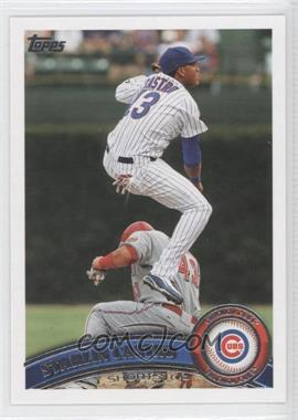2011 Topps - [Base] - Diamond Sparkle #247 - Starlin Castro