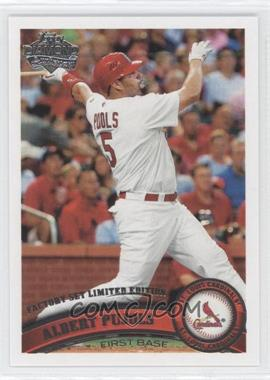 2011 Topps - [Base] - Factory Set Diamond Anniversary #100 - Albert Pujols