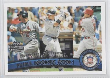 2011 Topps - [Base] - Factory Set Diamond Anniversary #138 - Albert Pujols, Joey Votto, Carlos Gonzalez