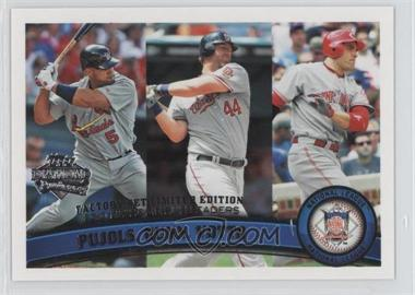 2011 Topps - [Base] - Factory Set Diamond Anniversary #318 - Albert Pujols, Adam Dunn, Joey Votto