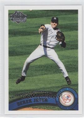 2011 Topps - [Base] - Factory Set Diamond Anniversary #330 - Derek Jeter