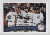 New York Yankees Team, Mariano Rivera, Derek Jeter, Robinson Cano