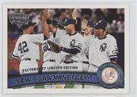 New York Yankees Team, Mariano Rivera, Derek Jeter, Robinson Cano