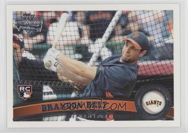 2011 Topps - [Base] - Factory Set Diamond Anniversary #605 - Brandon Belt