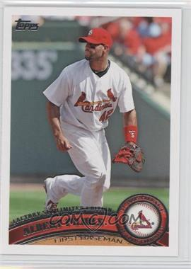 2011 Topps - [Base] - Factory Set Limited Edition #100 - Albert Pujols