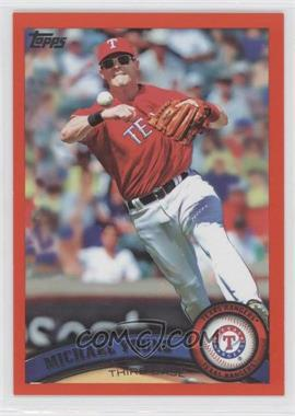 2011 Topps - [Base] - Factory Set Red #320 - Michael Young /245