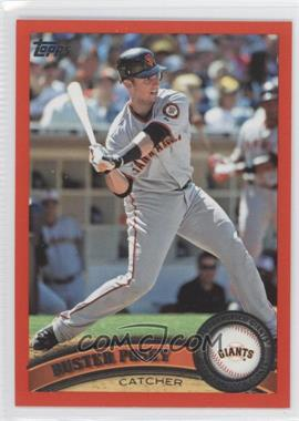 2011 Topps - [Base] - Factory Set Red #335 - Buster Posey /245