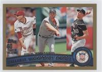 Roy Halladay, Adam Wainwright, Ubaldo Jimenez /2011