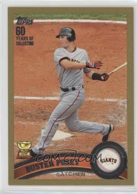 2011 Topps - [Base] - Gold #198 - Buster Posey /2011