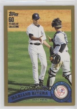 2011 Topps - [Base] - Gold #42 - Mariano Rivera /2011