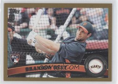 2011 Topps - [Base] - Gold #605 - Brandon Belt /2011